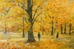 Žluté listí stromů (Třeboň) / Yellow Leaves of Trees (Třeboň)