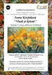 Výstava obrazů v galerii divadla Šumperk za spolupráce s uměleckou agenturu ART & MANAGEMENT /  Exhibition of paintings in the Šumperk Theater Gallery 9.2. - 18.3.2019