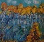 Podzim na hrázích rybníků