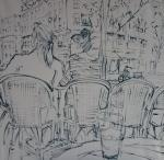 Kresba z Paříže - Dessin de Paris / Drawing from Paris