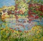Giverny IV. /The gardens of Claude Monet
