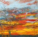 Červencový soumrak / Sunset of July