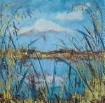 Stébla trávy ( rybník Láska , jižní Čechy) / Blades of grass