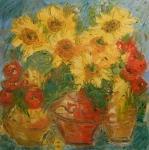 Tři kytice / Three bouquet of flowers