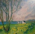 Chvíle na malebném pobřeží ( ostrov Skye, Skotsko) / Moment on the coast (Island Skye, Scotland)