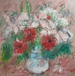 Růžová kytice narozeninová/ Pink bouquet birthday