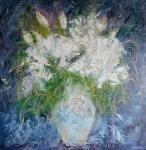 Kytice bílých lilií / Bouquet of white lilies