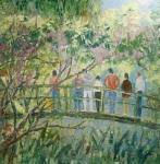 Nad jezírkem ( v zahradách Clauda Moneta) Giverny VI.