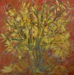 Jarní kytice zlatého deště / Laburnum