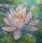 Hedvábný květ leknínu /Silky flower lili