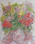 Růžová kytice ze zahrady / Pink Flowers from the Garden