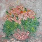 Posel jara - růžový petrklíč /  Pink primrose (The messenger of spring)