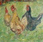 Tři kámošky / Three Hens Friends