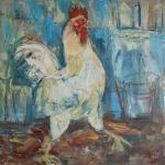 Spěchající kohout / Cock in a Hurry