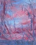 Růžové nebe II./ Pink sky II.