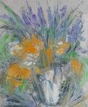 Kytice s levandulí / Bouquet of Lavender
