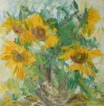 Slunečnice ve váze / Sunflowers in a Vase