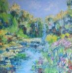 V zahradách Clauda Moneta  Giverny I.( Francie)