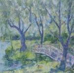 V zahradě u zámku Hever (Anglie) / In the Garden Near the Hever Castle (England)