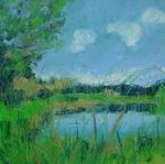 Jarní toulky u rybníka Naděje