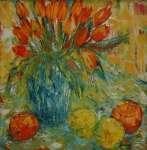 Tulipány v zátiší / Tulips in a Still-life