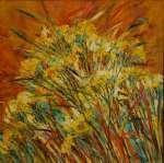 Trávy a žluté květy / Grasses and Yellow Flowers