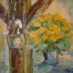Žlutá kytice v ateliéru