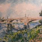 Mraky mohou plout (kamenný most Nymburk)
