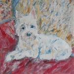 Westík Víďa ( obrázek na přání ) /  West White Terrier
