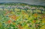 Jarní proměny okolo Netvořic (střední Čechy)