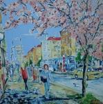 Kvetoucí sakura (Vršovice)